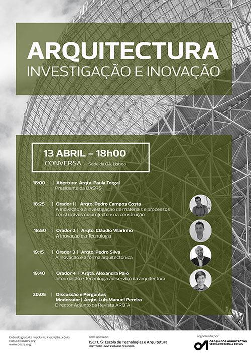 20180413 Arquitetura Investigação e Inovação OASRS - Cópia